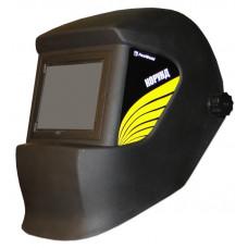 Маска сварщика КОРУНД черная со стеклом С5